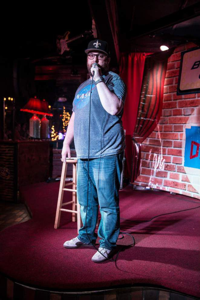 Is there something funny going on here? Regional comedy on the rise across south Louisiana _lowres