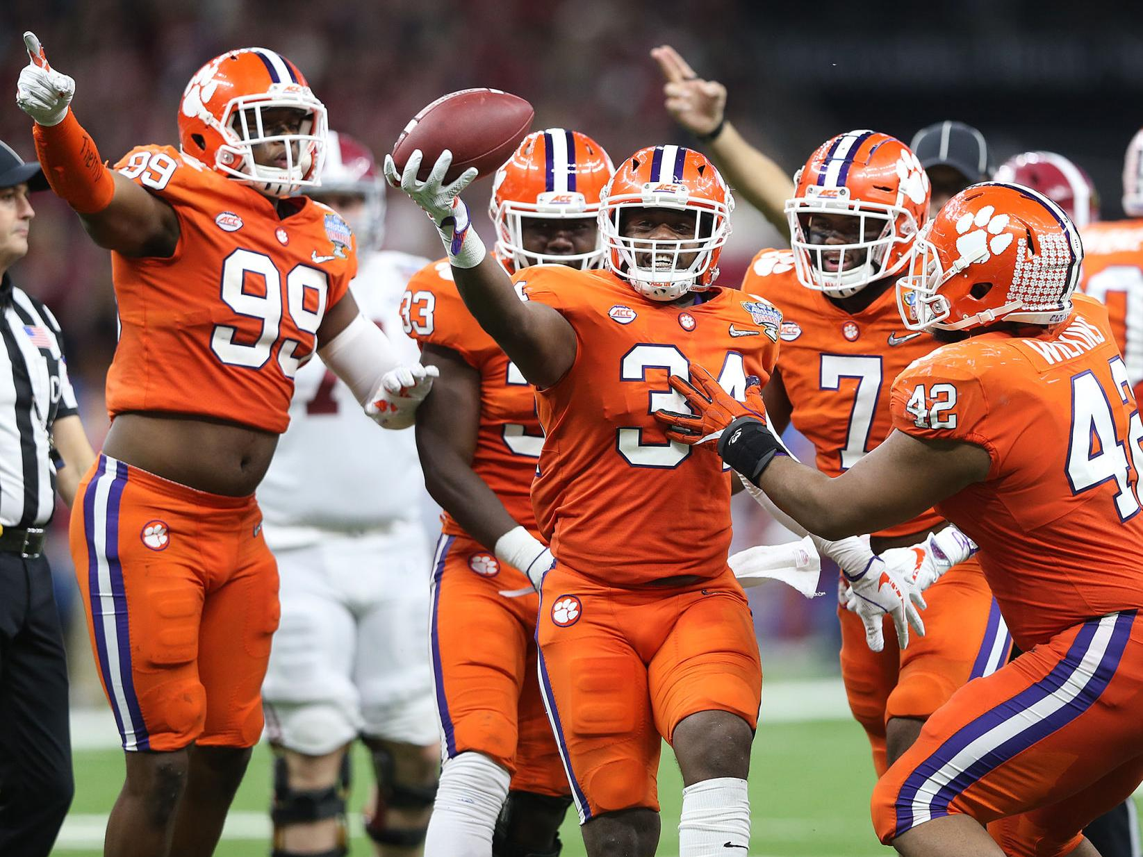 Howard S Rock Iptay The Fridge Get To Know These 10 Things About Clemson Football Lsu Theadvocate Com