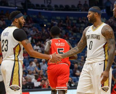 cab34e356 Report  Anthony Davis says DeMarcus Cousins  departure turns him from   teammate  to  enemy