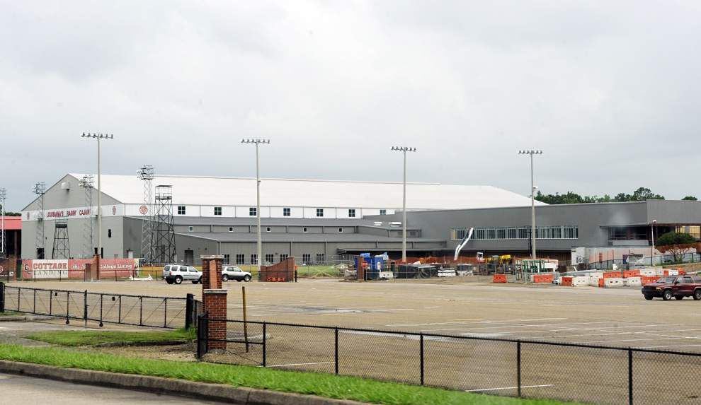 Louisiana-Lafayette's athletic facilities upgrade on schedule _lowres
