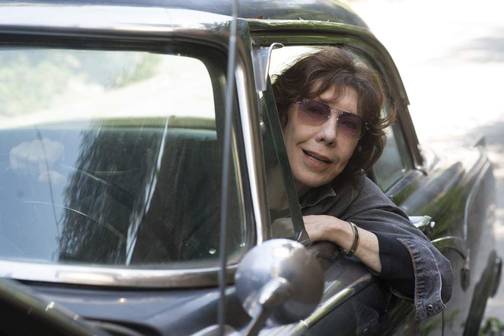 Review: Lily Tomlin a perfect fit in 'Grandma' _lowres