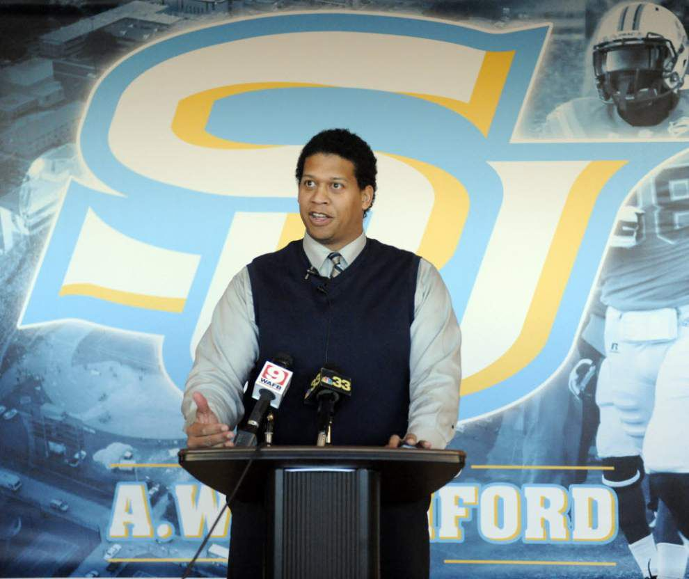 Southern University: William Broussard won't return as athletic director, Roman Banks to remain on interim basis _lowres
