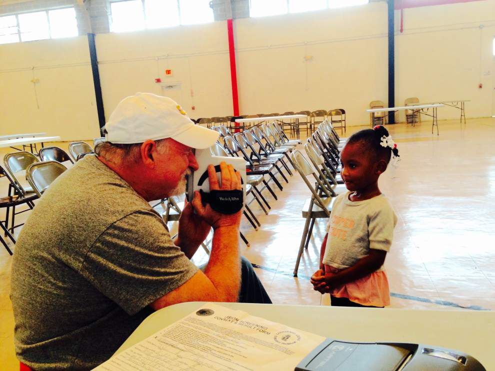La. Lions take site on schoolchildren's eyes _lowres