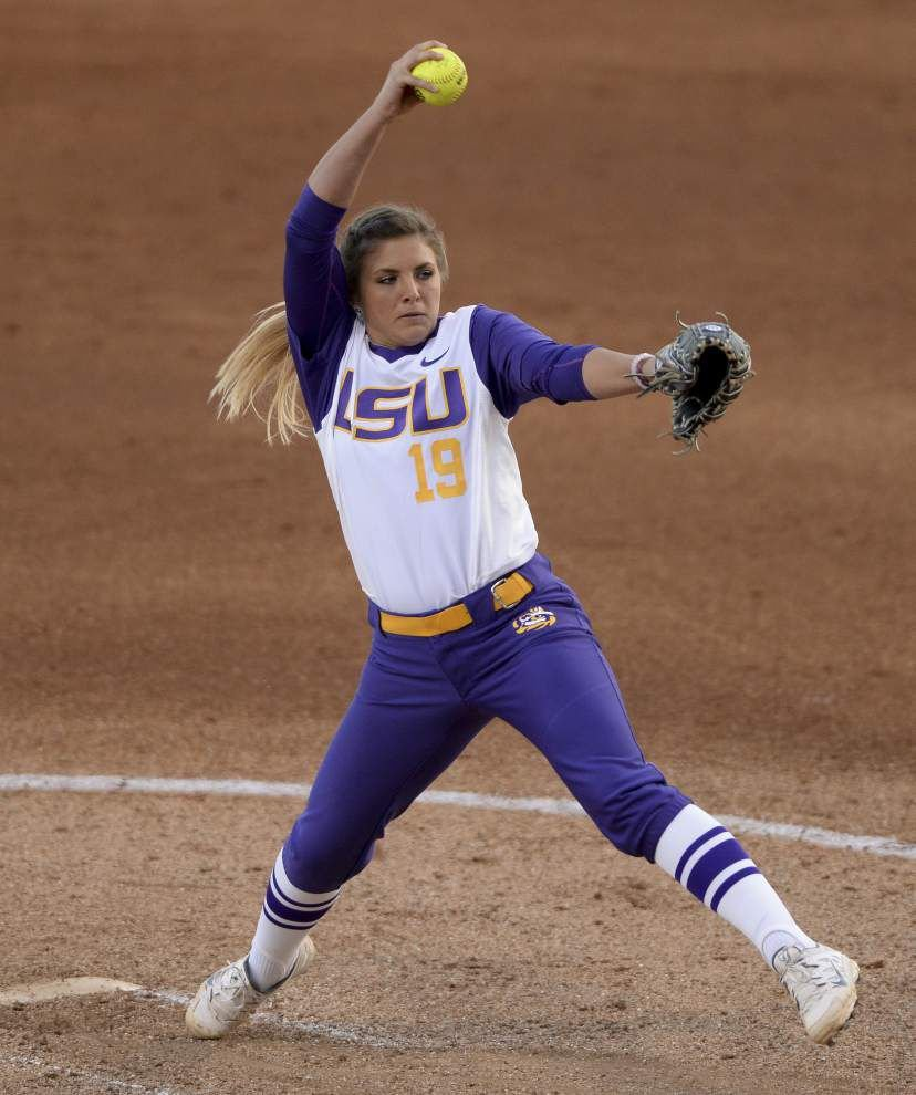 The LSU softball team won't start 25-0 again: Pacific stuns the Tigers 2-1 _lowres