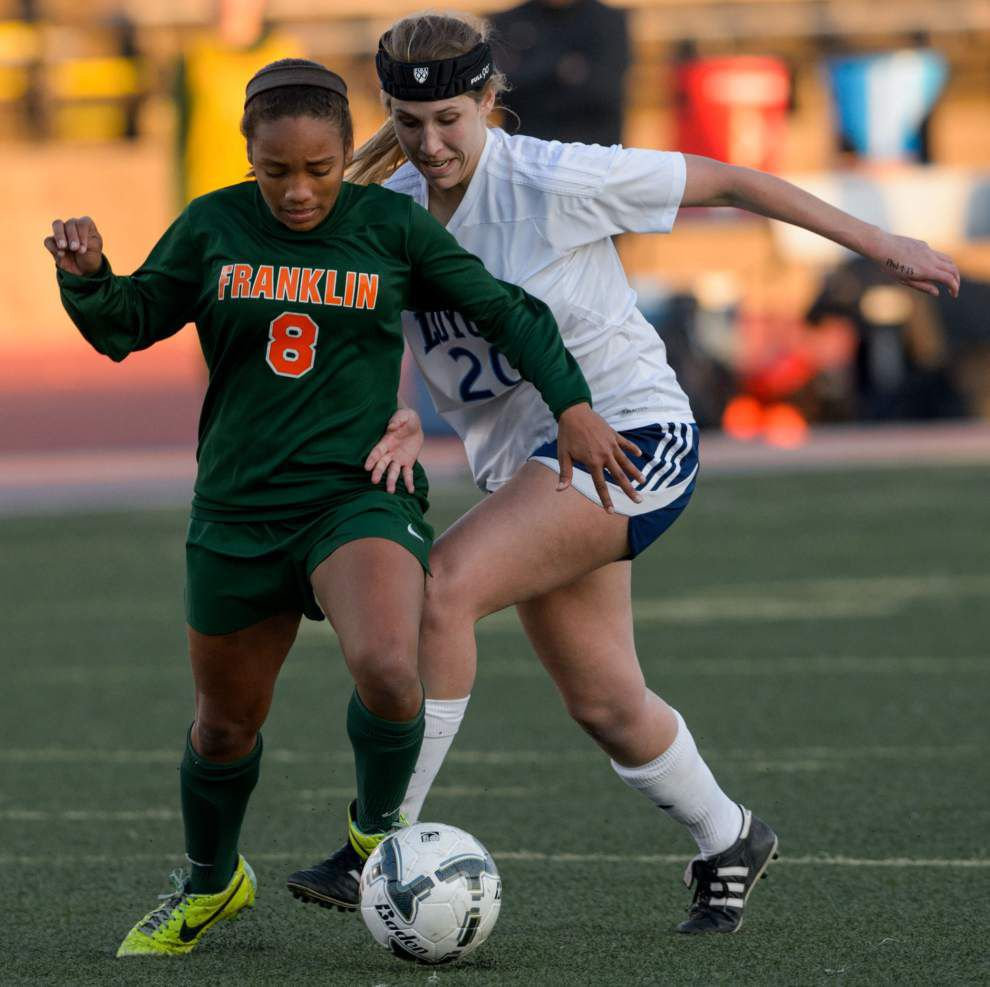 Ben Franklin girls soccer team win third straight state title _lowres