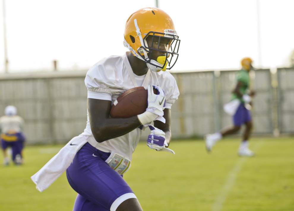 Receiver Avery Peterson, brother of former LSU All-American Patrick Peterson, on leaving football team: 'It really breaks my heart' _lowres