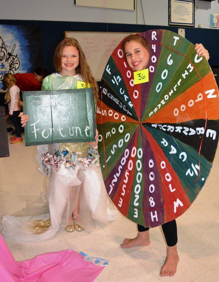 Schools' fashion show has a unique twist _lowres