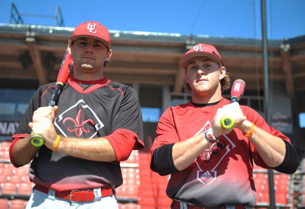 Cajuns' Kyle Clement and Stefan Trosclair enter 2016 season as The Guys _lowres