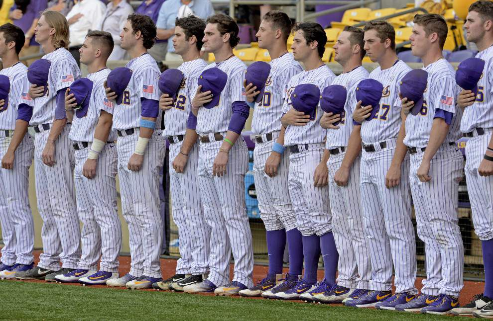 Live updates: LSU baseball goes for important series win at Auburn _lowres