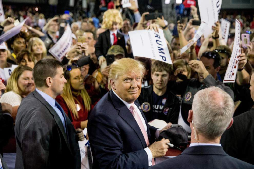 Donald Trump to hold 2nd Louisiana rally in New Orleans; see location, ticket info _lowres