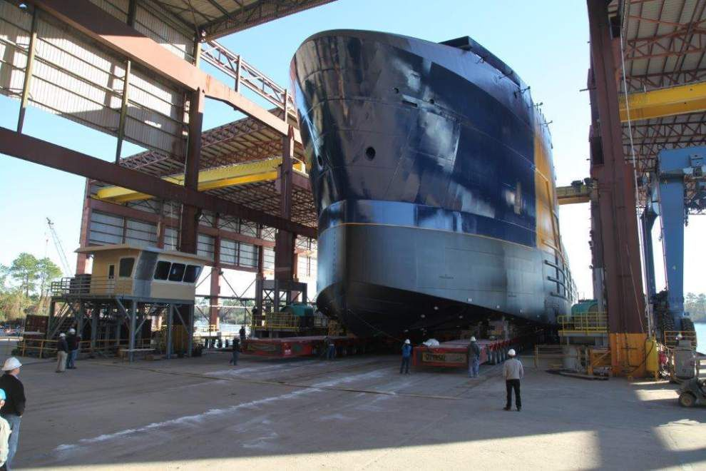 Harvey Gulf Marine acquiring shipbuilders in New Orleans, Gulfport _lowres