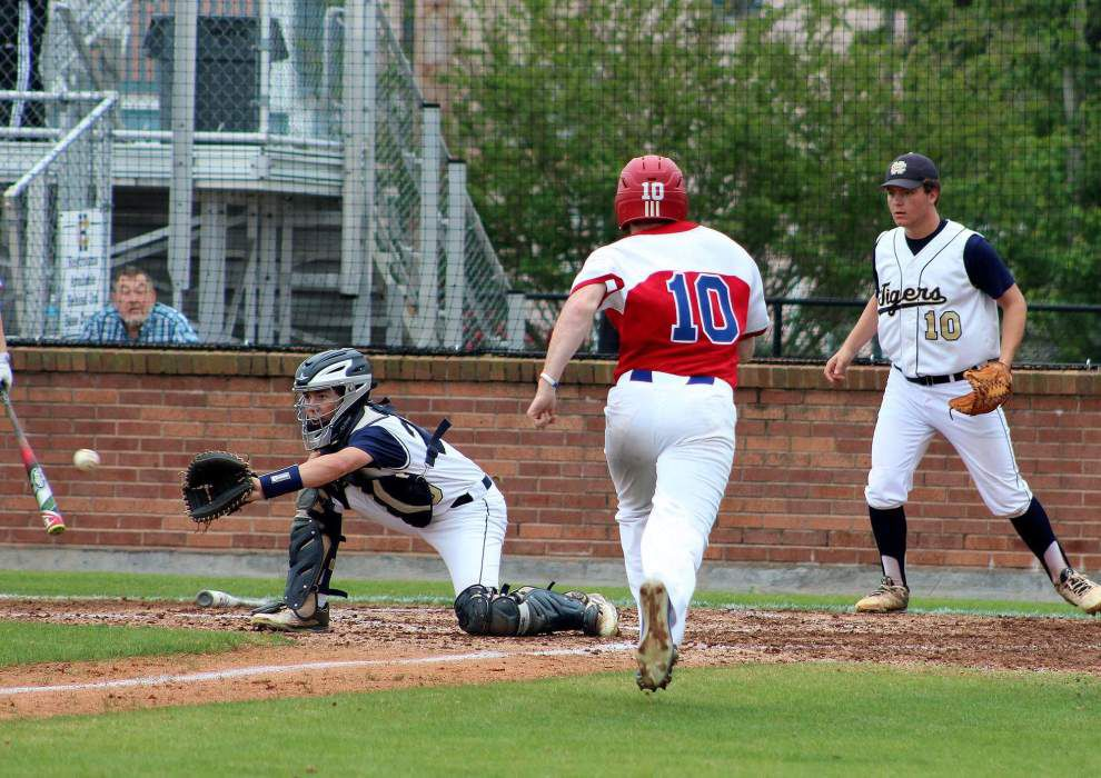 Daniel Cabrera's grand slam helps put John Curtis step closer to Catholic League title _lowres