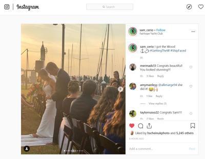Sam Cerio wedding