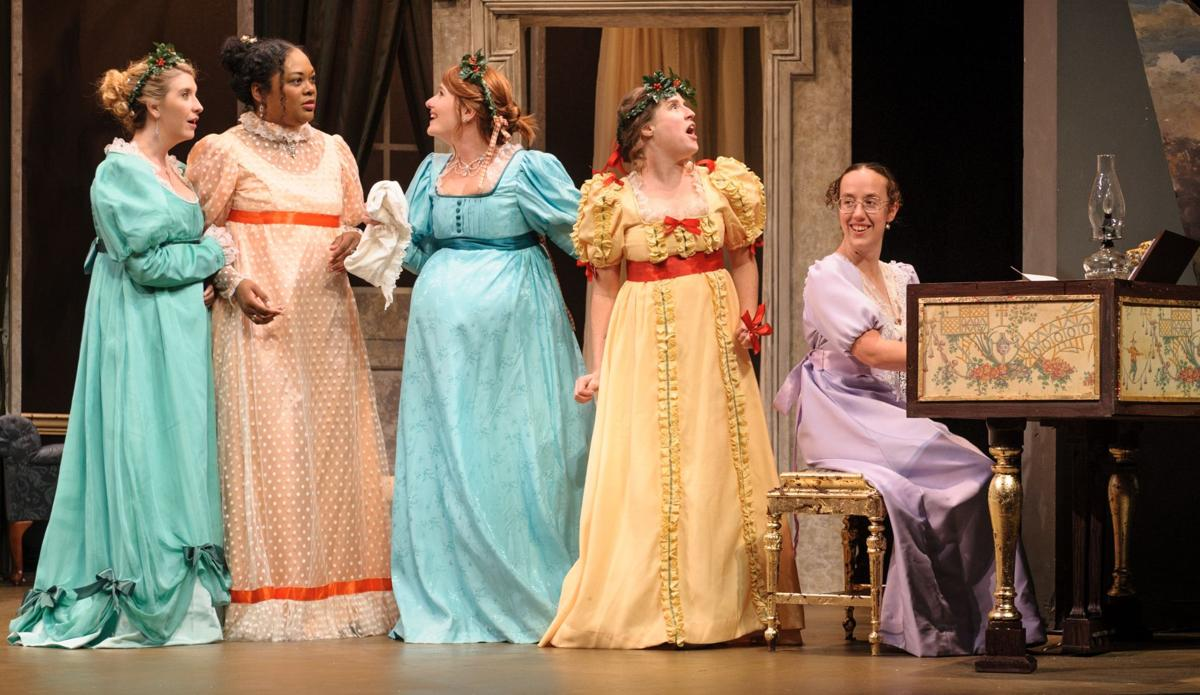 Miss Bennet Christmas At Pemberley.Review Miss Bennet Christmas At Pemberley Stage Previews