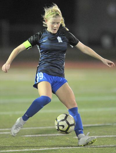 Peyton Scheuermann (St. Scholastica Girls Soccer)