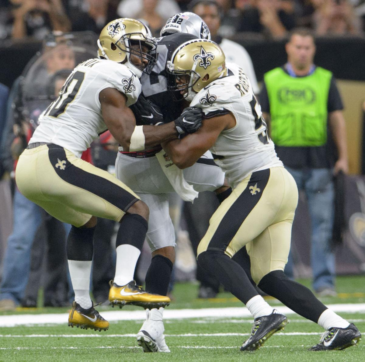 Delvin Breaux progressing Terron Armstead day to day for Saints