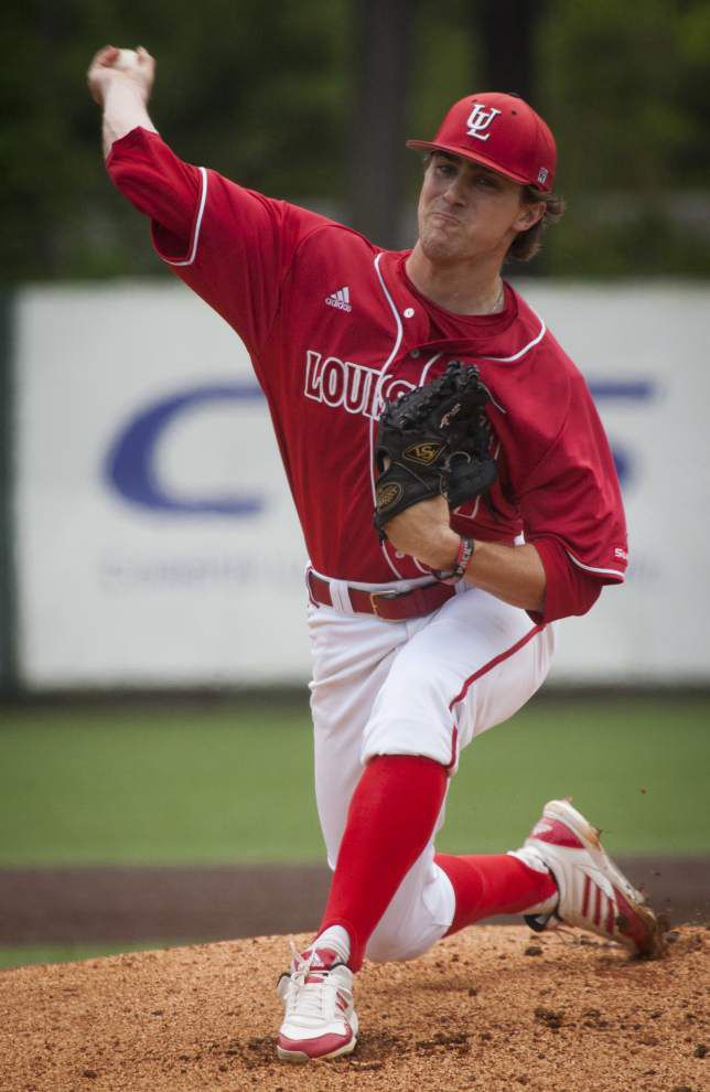 UL-Lafayette notebook: Wyatt Marks set for Saturday, Gunner Leger will handle Sunday at Baton Rouge super regional _lowres