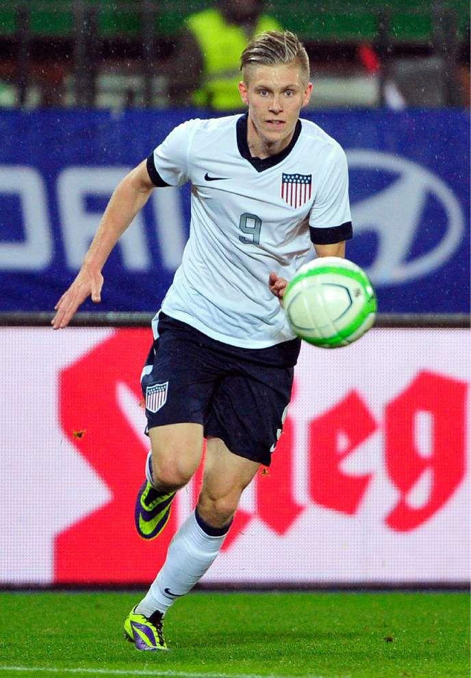 U.S. team's Aron Johannsson proud of his Icelandic roots _lowres