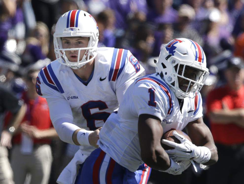 Florida transfer Jeff Driskel emerges as a dual threat for Louisiana Tech _lowres