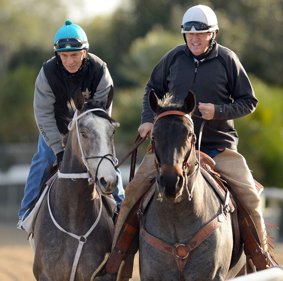 Trainer Larry Jones has three entries in Rachel Alexandra Stakes _lowres