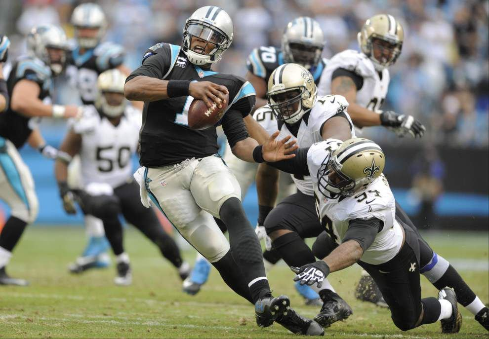 Saints can still realize dream of leading the NFC South with a win at Carolina _lowres