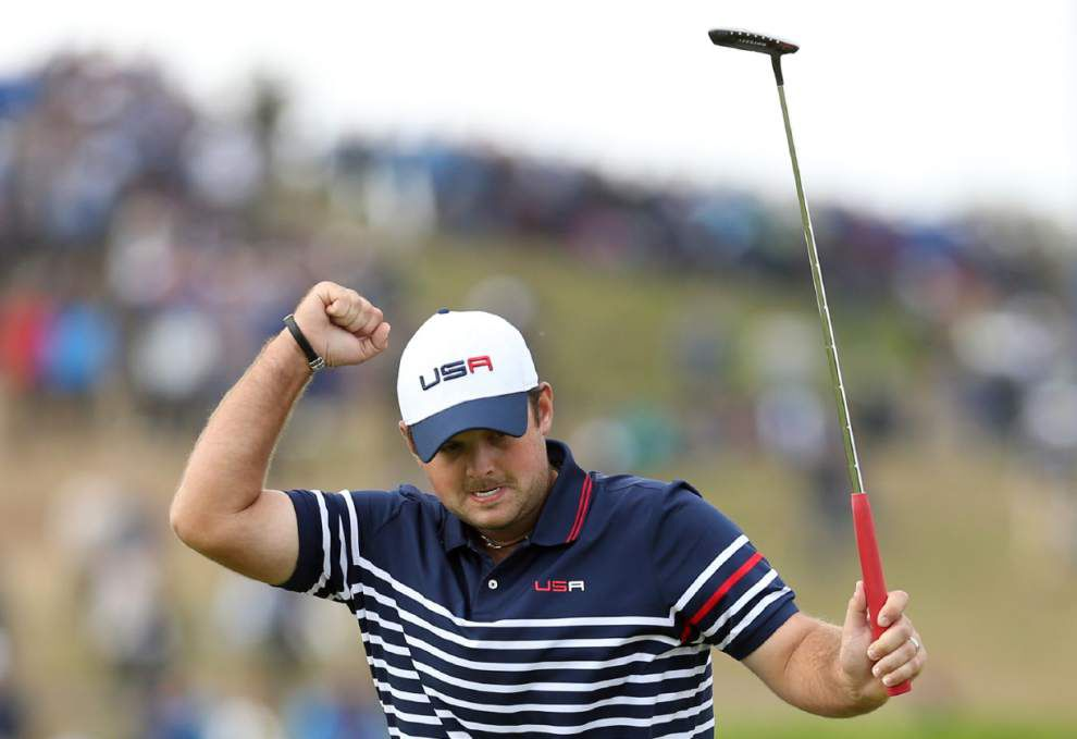 Patrick Reed apologizes for on-camera outburst that included gay slur _lowres