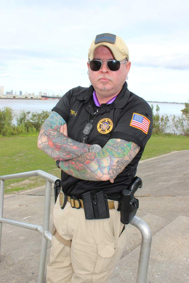 """Ex-reality star """"The Whacker"""" still 'going after the bad guys' in New Orleans _lowres"""