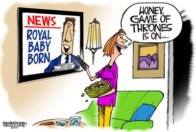 Walt Handelsman: Royal Baby Born