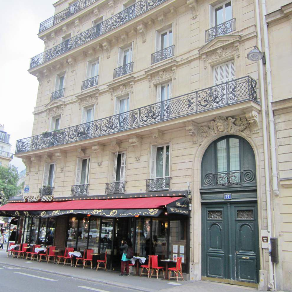 Wander the streets of Paris to find homes of writers with N.O. ties _lowres