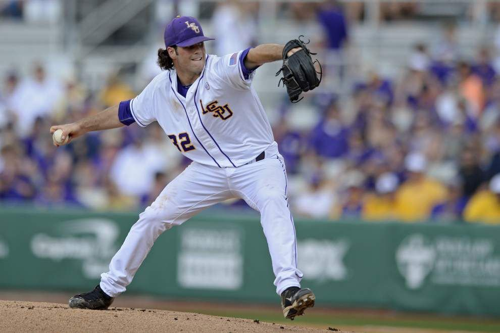 LSU baseball notebook: Alden Cartwright gets his first start Tuesday against Louisiana Tech, weather-permitting _lowres
