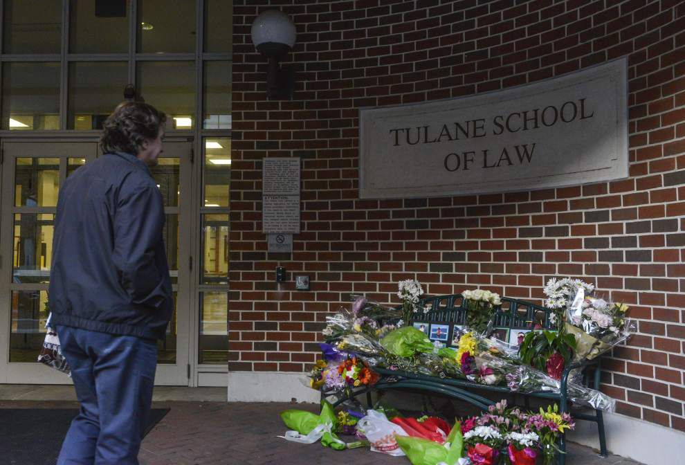 Tulane law school students, faculty struggle to understand murder-suicide _lowres