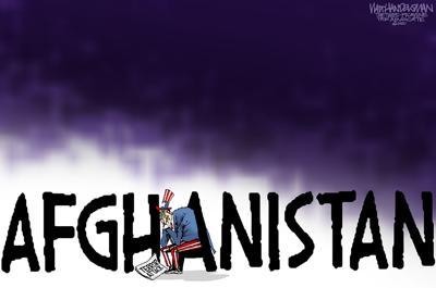 Walt Handelsman: More Agony in Afghanistan...