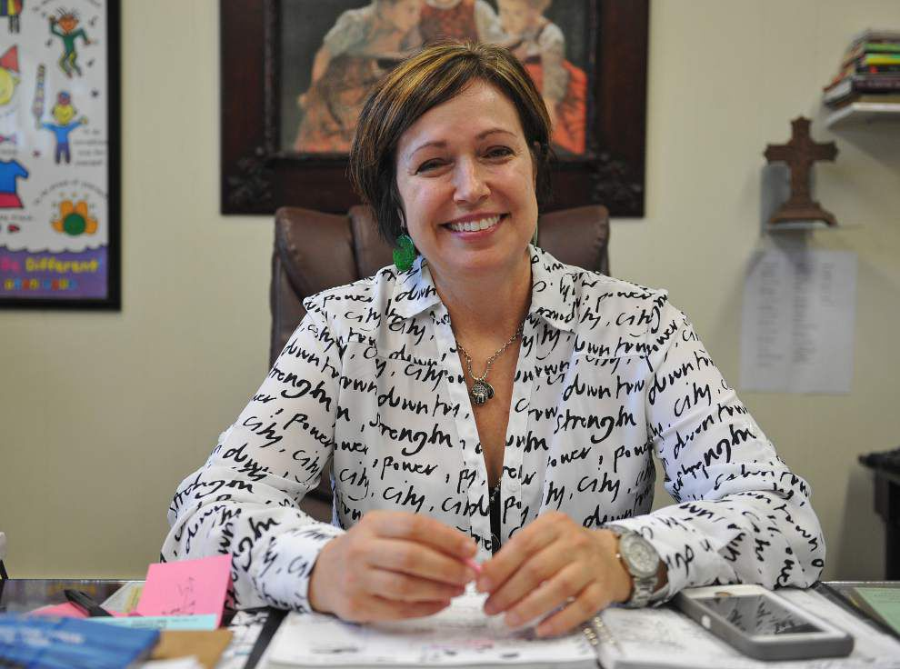 Acadia Parish principal recognized as one of nation's best; 'Mrs. Tros' sets high expectations for students and staff _lowres