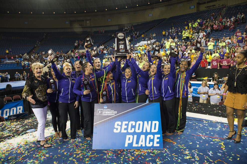 Rabalais: LSU gymnasts deserve to splurge after best-ever season _lowres