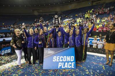 Rabalais: LSU gymnasts deserve to splurge after best-ever season _lowres