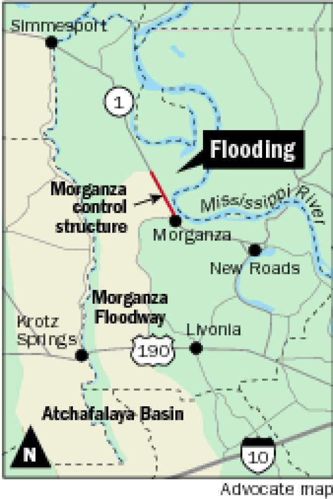 Farmers beg for assistance as Mississippi River overtops levee near the Morganza Spillway _lowres