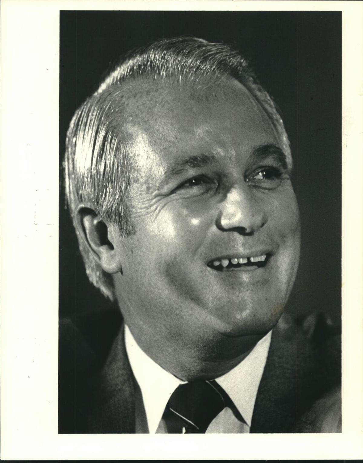 1983 Press Photo Louisiana Governor Edwin Edwards