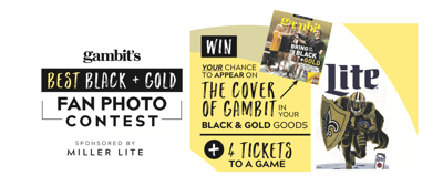 Black & Gold photo contest