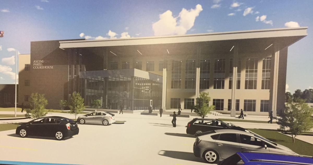 New Ascension courthouse in Gonzales nears construction, but