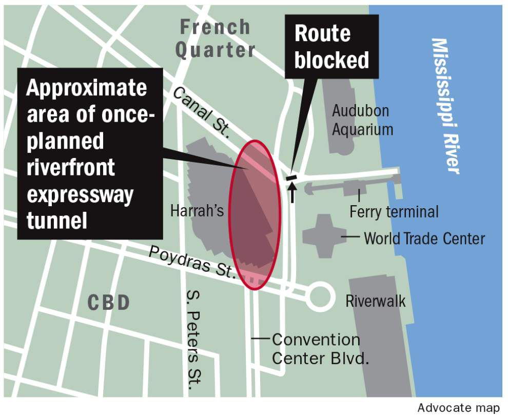 Concern, but not alarm, over buckling wall of 1960s tunnel under Canal Street near river _lowres