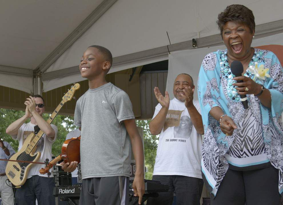Irma Thomas is back for Mother's Day concert at Audubon Zoo _lowres
