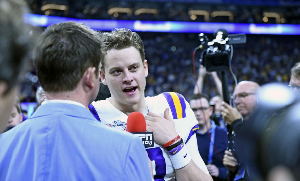 Joe Burrow from the Super Bowl in Miami: On how he wound up at LSU, his confidence, more