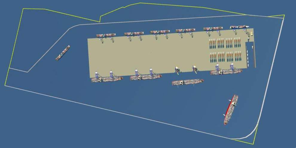 Plans for port still in motion _lowres