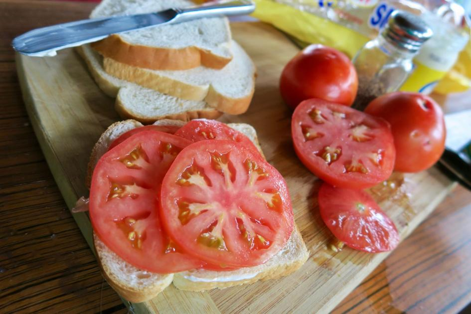 You can't beat the classic summer tomato sandwich. To prove it, our food critic tried