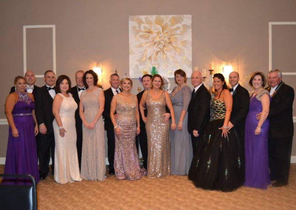 Hannas reign over Rotary Mardi Gras ball _lowres