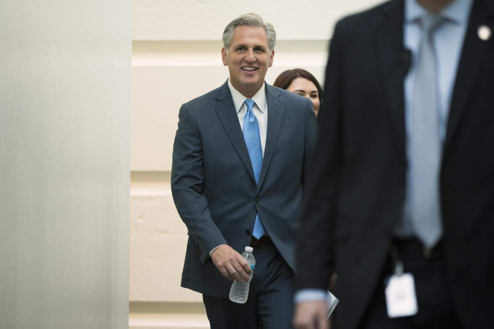 Majority Leader Kevin McCarthy withdraws candidacy for House Speaker; what it means for Steve Scalise _lowres