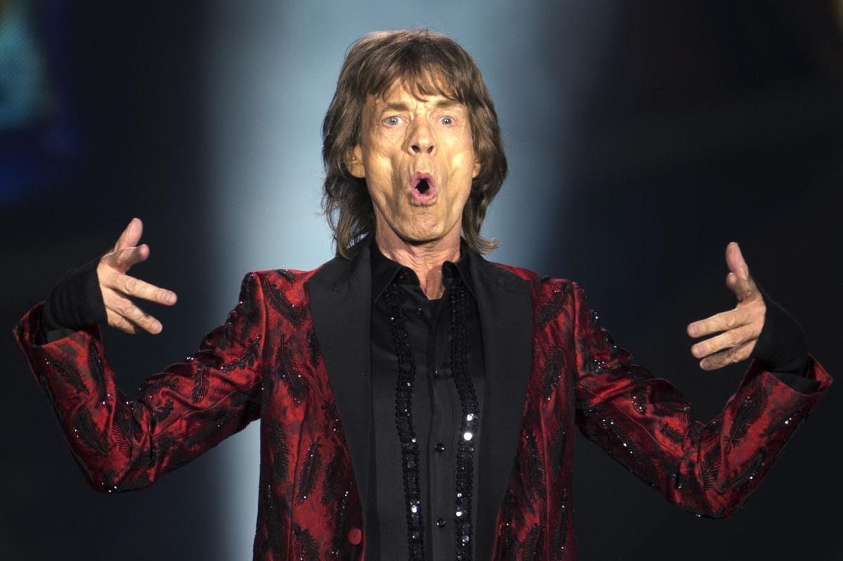 Mick Jagger copy for Red