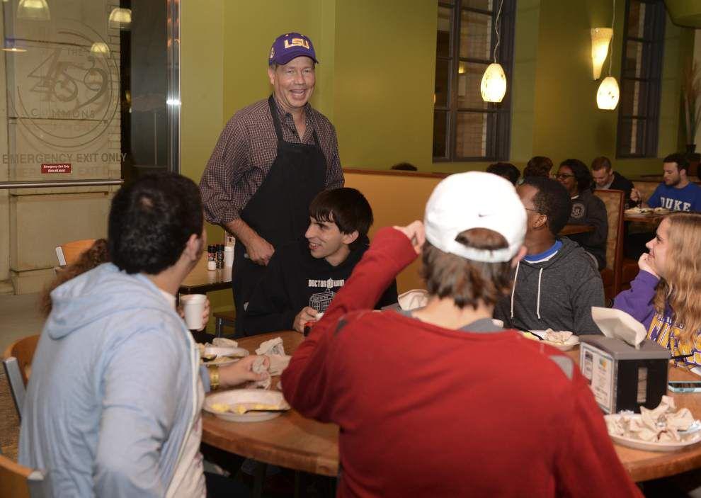 Photos: LSU Finals Week Presidential Pancake Breakfast _lowres
