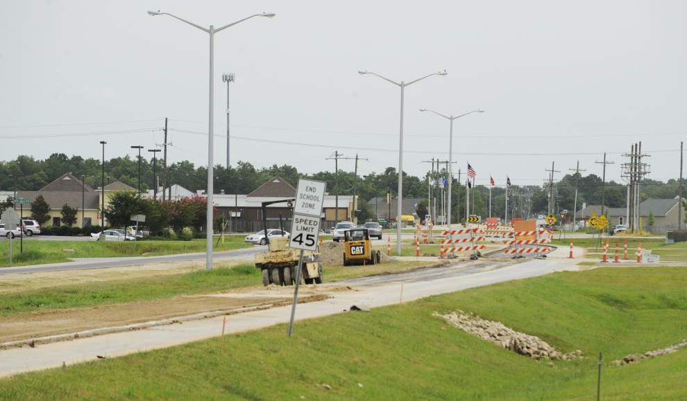 Youngsville council authorizes legal action over Chemin Metairie Parkway Phase One deterioration _lowres