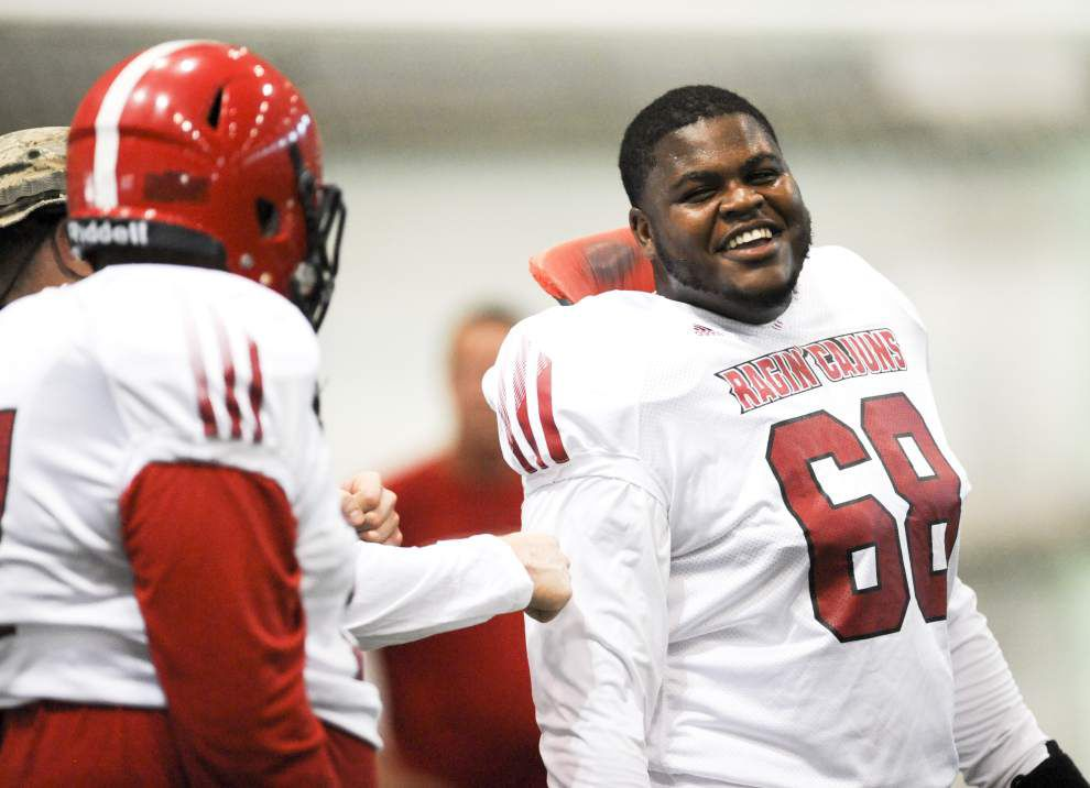 Offensive lineman Octravian Anderson finds ways to lead without grabbing spotlight _lowres